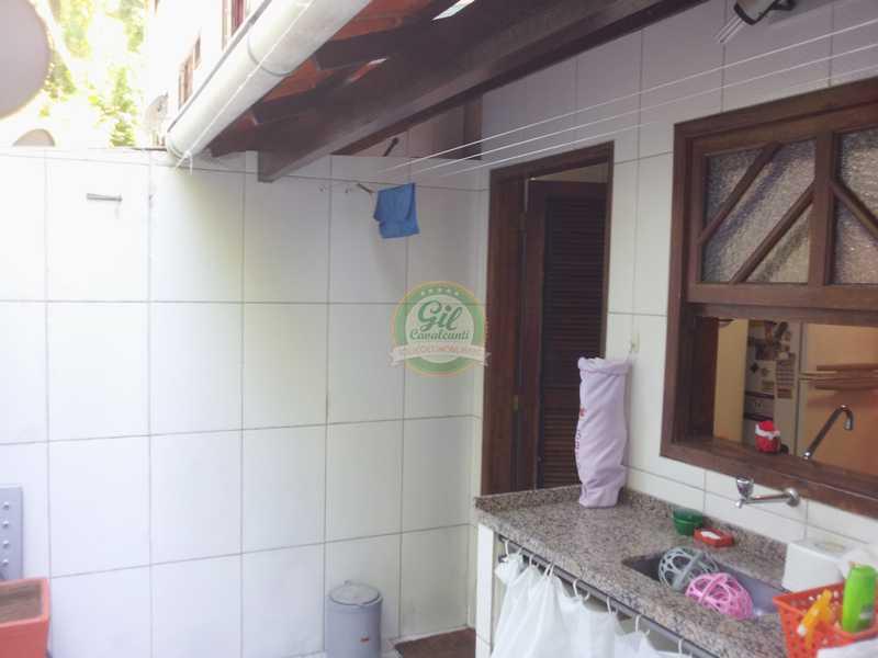 5areadeserviço - Casa em Condomínio 3 quartos à venda Jardim Sulacap, Rio de Janeiro - R$ 299.000 - CS2482 - 28