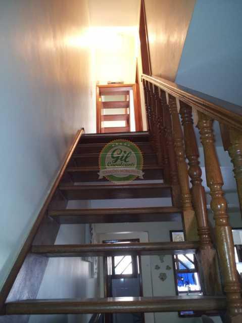 8.1escadaterreoprimeiroanda - Casa em Condomínio 3 quartos à venda Jardim Sulacap, Rio de Janeiro - R$ 299.000 - CS2482 - 11