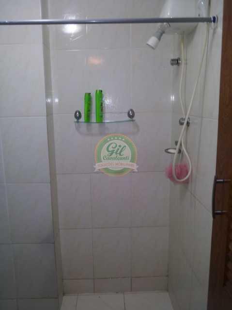 15.1banheirosegundoandar - Casa em Condomínio 3 quartos à venda Jardim Sulacap, Rio de Janeiro - R$ 299.000 - CS2482 - 25