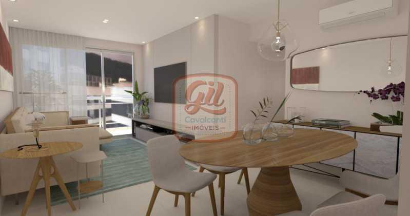 fotos-2 - Apartamento 3 quartos à venda Tijuca, Rio de Janeiro - R$ 729.000 - AP2067 - 3