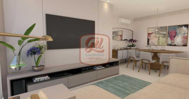 fotos-3 - Apartamento 3 quartos à venda Tijuca, Rio de Janeiro - R$ 729.000 - AP2067 - 4