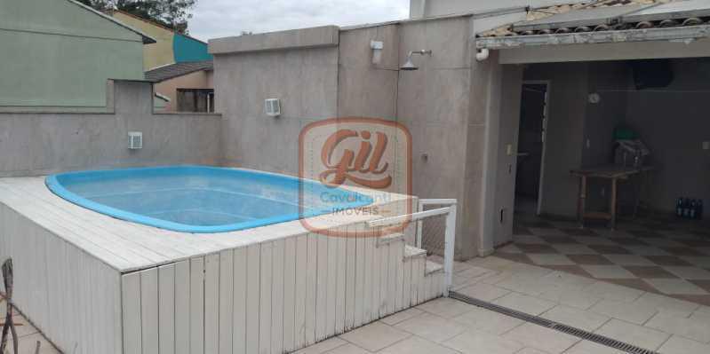 3c9acf71-7428-4b03-88d3-188b75 - Casa em Condomínio 3 quartos à venda Vila Valqueire, Rio de Janeiro - R$ 680.000 - CS2512 - 26