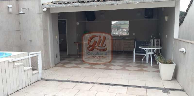715bcf91-07a0-4a33-985d-cee2fe - Casa em Condomínio 3 quartos à venda Vila Valqueire, Rio de Janeiro - R$ 680.000 - CS2512 - 25
