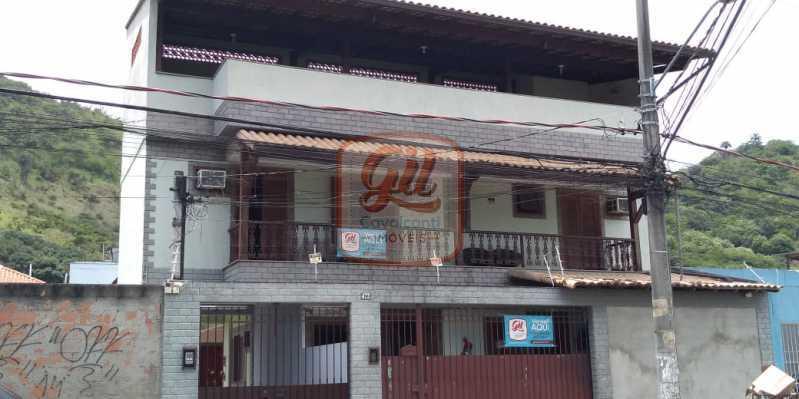 dc66f26a-0ebe-4585-b103-0c960a - Casa 3 quartos à venda Jardim Sulacap, Rio de Janeiro - R$ 440.000 - CS2531 - 3