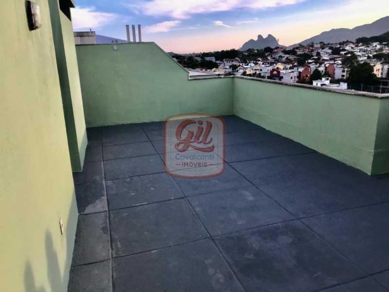 aae03dc7-b47a-4fed-9866-0b379f - Cobertura 2 quartos à venda Taquara, Rio de Janeiro - R$ 350.000 - CB0239 - 13