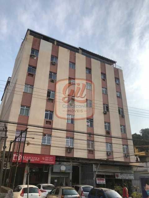 fachada - Apartamento 2 quartos à venda Cascadura, Rio de Janeiro - R$ 165.000 - AP2118 - 1
