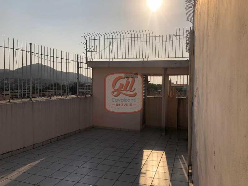 terraço01 - Apartamento 2 quartos à venda Cascadura, Rio de Janeiro - R$ 165.000 - AP2118 - 18