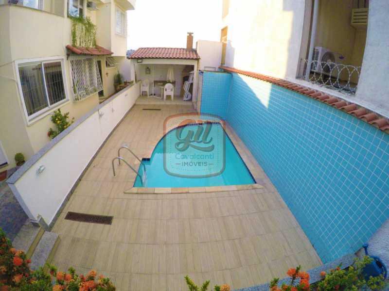 9e12c669-f7d7-4883-b678-26e34b - Casa em Condomínio 3 quartos à venda Pechincha, Rio de Janeiro - R$ 500.000 - CS2555 - 25