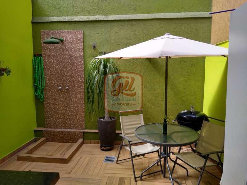 1c7c62a6-3b7a-41ab-9b99-734978 - Casa em Condomínio 3 quartos à venda Pechincha, Rio de Janeiro - R$ 560.000 - CS2580 - 6