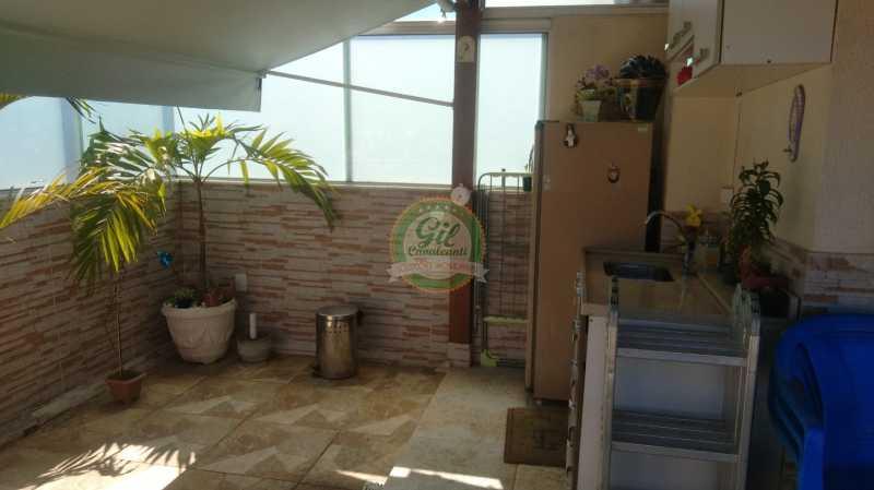 1ff3b915-7609-474e-8d27-8748d7 - Cobertura 2 quartos à venda Taquara, Rio de Janeiro - R$ 420.000 - CB0077 - 4