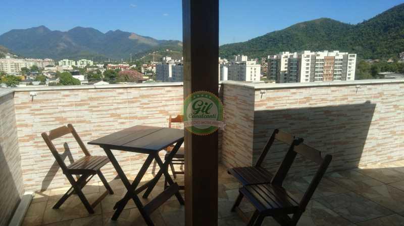 25ff7834-6ca8-468c-b99b-79b3ad - Cobertura 2 quartos à venda Taquara, Rio de Janeiro - R$ 420.000 - CB0077 - 3