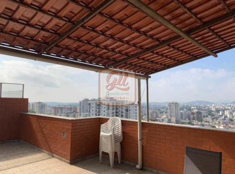 ddb843bb-51be-4e9f-ba8c-f063b9 - Cobertura 2 quartos à venda Cachambi, Rio de Janeiro - R$ 700.000 - CB0247 - 23