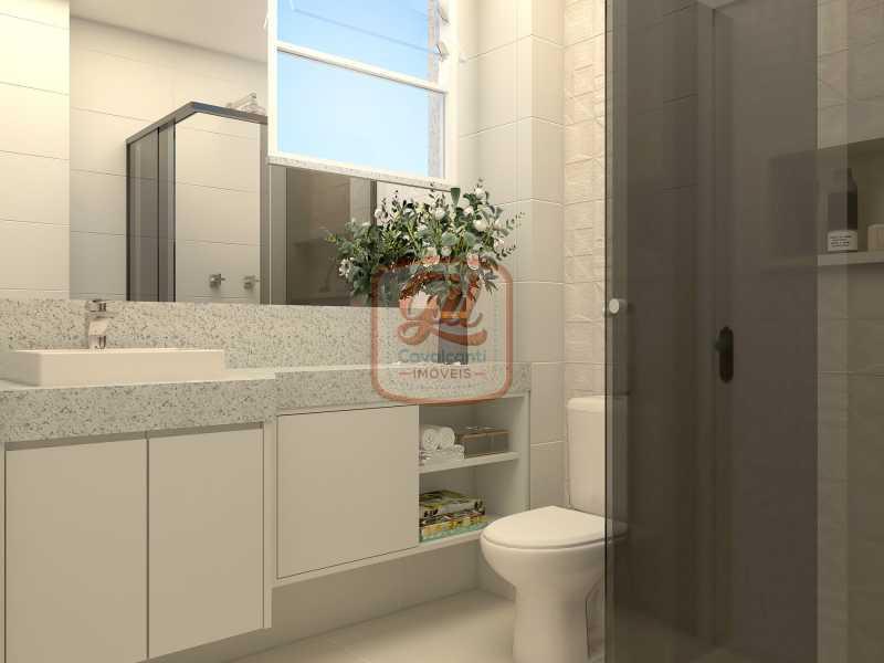 ap2172-BANHEIRO SOCIAL 03 - Apartamento 2 quartos à venda Copacabana, Rio de Janeiro - R$ 849.000 - AP2172 - 16