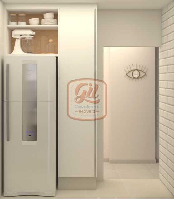 ap2172-COZINHA 01 - Apartamento 2 quartos à venda Copacabana, Rio de Janeiro - R$ 849.000 - AP2172 - 8