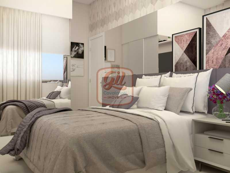 ap2172QUARTO 02 - Apartamento 2 quartos à venda Copacabana, Rio de Janeiro - R$ 849.000 - AP2172 - 18
