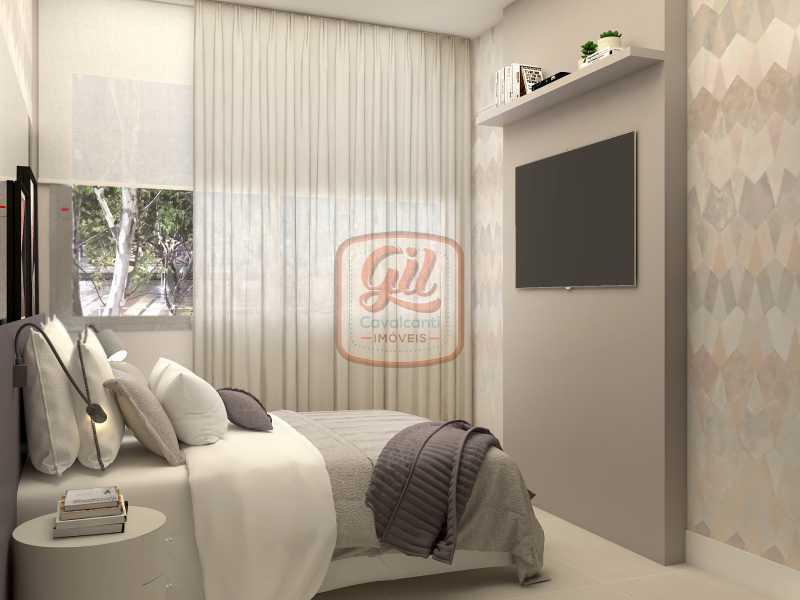 ap2172-QUARTO 03 - Apartamento 2 quartos à venda Copacabana, Rio de Janeiro - R$ 849.000 - AP2172 - 19