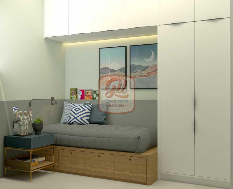 ap2172QUARTO DE SERV. 01 - Apartamento 2 quartos à venda Copacabana, Rio de Janeiro - R$ 849.000 - AP2172 - 10