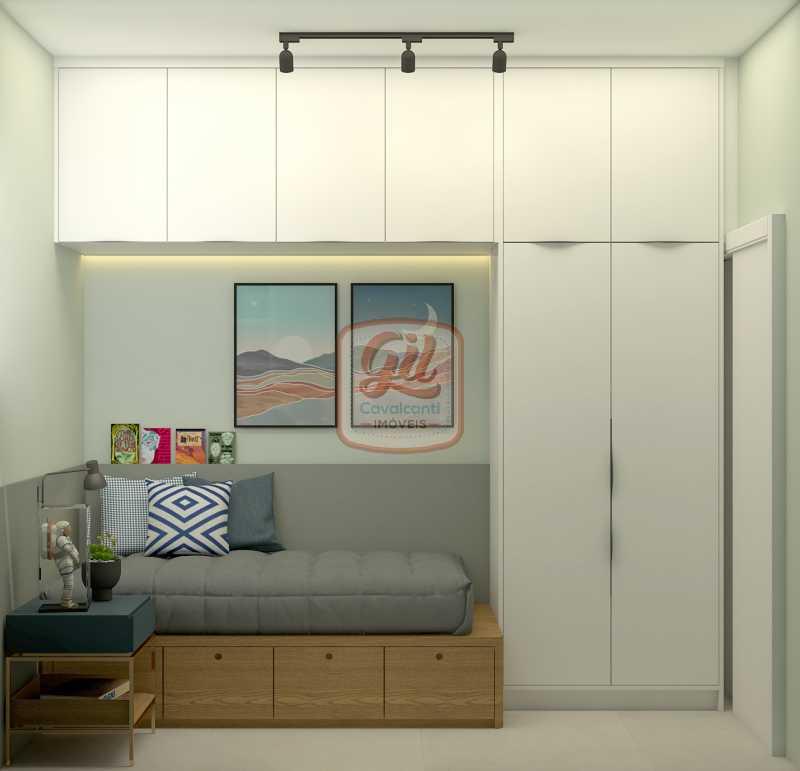 ap2172QUARTO DE SERV. 02 - Apartamento 2 quartos à venda Copacabana, Rio de Janeiro - R$ 849.000 - AP2172 - 11