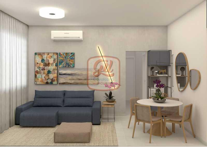 ap2172-SALA 01 - Apartamento 2 quartos à venda Copacabana, Rio de Janeiro - R$ 849.000 - AP2172 - 3