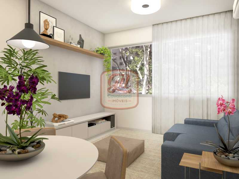 ap2172-SALA 02 - Apartamento 2 quartos à venda Copacabana, Rio de Janeiro - R$ 849.000 - AP2172 - 4