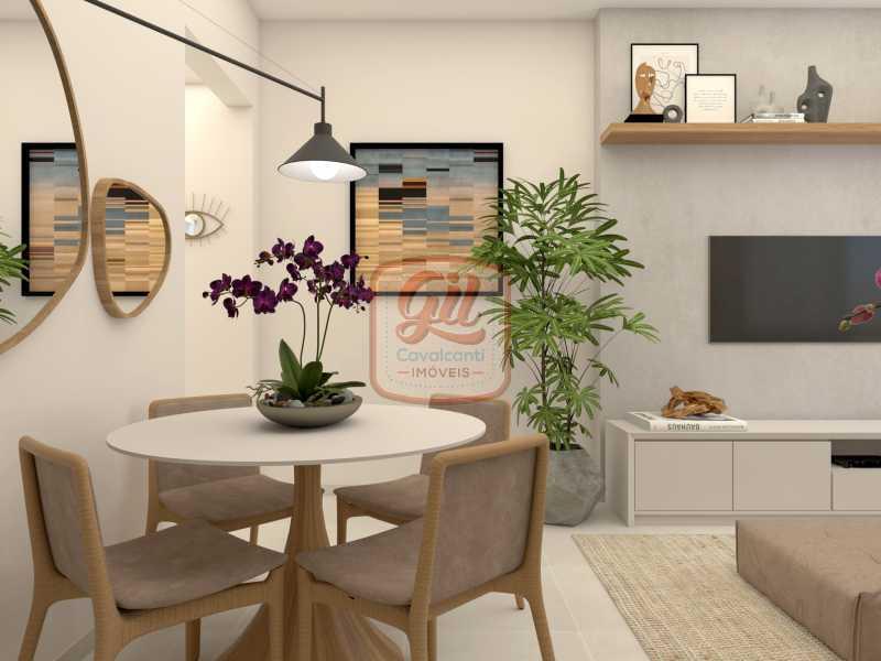 ap2172-SALA 03 - Apartamento 2 quartos à venda Copacabana, Rio de Janeiro - R$ 849.000 - AP2172 - 5