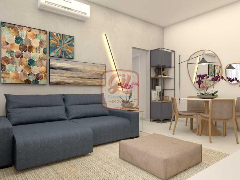 ap2172-SALA 04 - Apartamento 2 quartos à venda Copacabana, Rio de Janeiro - R$ 849.000 - AP2172 - 6