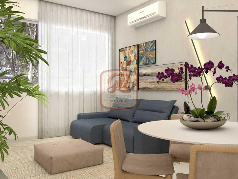 ap2172-SALA 05 - Apartamento 2 quartos à venda Copacabana, Rio de Janeiro - R$ 849.000 - AP2172 - 7