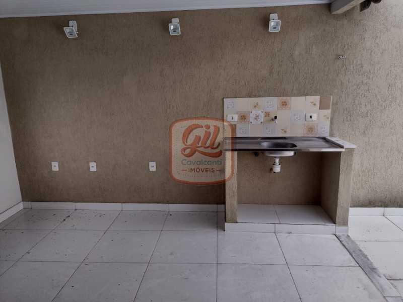 4337d97c-14be-46c6-91dd-ea4af8 - Casa de Vila 3 quartos à venda Taquara, Rio de Janeiro - R$ 400.000 - CS2647 - 26