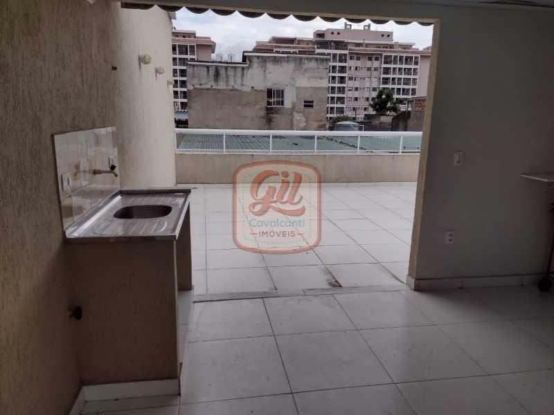 ee6a4f5a-2e77-4365-9b4c-2a2aea - Casa de Vila 3 quartos à venda Taquara, Rio de Janeiro - R$ 400.000 - CS2647 - 25