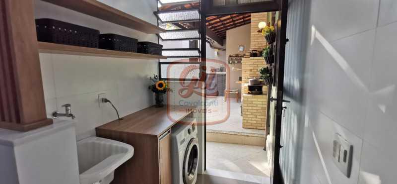 bee5fae7-cdd9-4ec5-91b3-fc1933 - Casa em Condomínio 3 quartos à venda Vila Valqueire, Rio de Janeiro - R$ 1.280.000 - CS2656 - 24