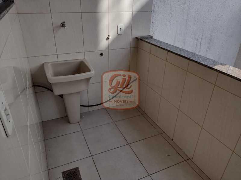 71828e9d-89ac-4c81-b82d-20e278 - Casa 2 quartos à venda Jardim Sulacap, Rio de Janeiro - R$ 350.000 - CS2658 - 5