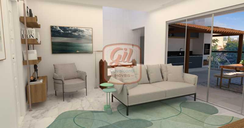 cb0259 1 - Cobertura 3 quartos à venda Recreio dos Bandeirantes, Rio de Janeiro - R$ 890.000 - CB0259 - 5
