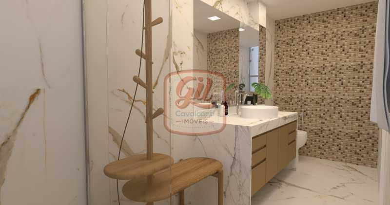 cb0259 13 - Cobertura 3 quartos à venda Recreio dos Bandeirantes, Rio de Janeiro - R$ 890.000 - CB0259 - 14
