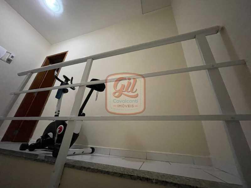 0d65b834-ed05-433f-9305-c05ae6 - Casa em Condomínio 2 quartos à venda Tanque, Rio de Janeiro - R$ 290.000 - CS2683 - 18