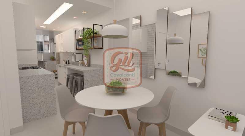 COPA COZINHA 2 - Apartamento 2 quartos à venda Copacabana, Rio de Janeiro - R$ 749.000 - AP2296 - 3