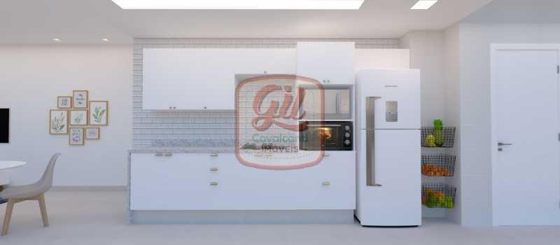 COZINHA 2 - Apartamento 2 quartos à venda Copacabana, Rio de Janeiro - R$ 749.000 - AP2296 - 4