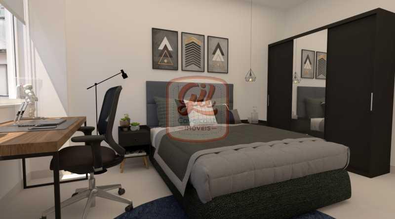 QUARTO 1 - Apartamento 2 quartos à venda Copacabana, Rio de Janeiro - R$ 749.000 - AP2296 - 7