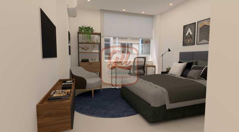 QUARTO 2 - Apartamento 2 quartos à venda Copacabana, Rio de Janeiro - R$ 749.000 - AP2296 - 8