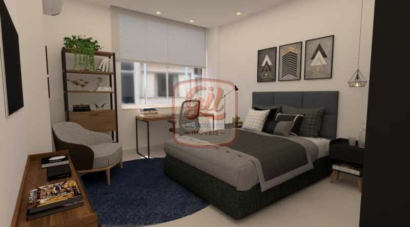QUARTO 4 - Apartamento 2 quartos à venda Copacabana, Rio de Janeiro - R$ 749.000 - AP2296 - 10