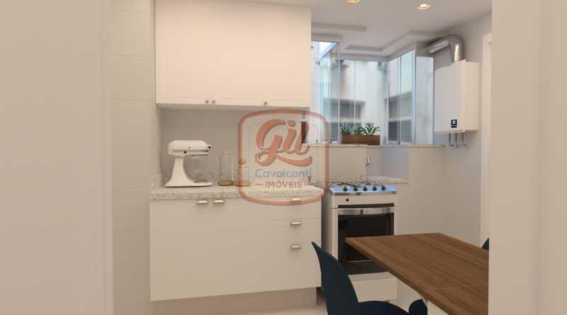 IMAGEM 08 - Casa 2 quartos à venda Copacabana, Rio de Janeiro - R$ 869.000 - AP2297 - 6