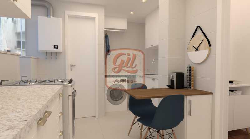 IMAGEM 05 - Casa 2 quartos à venda Copacabana, Rio de Janeiro - R$ 869.000 - AP2297 - 9