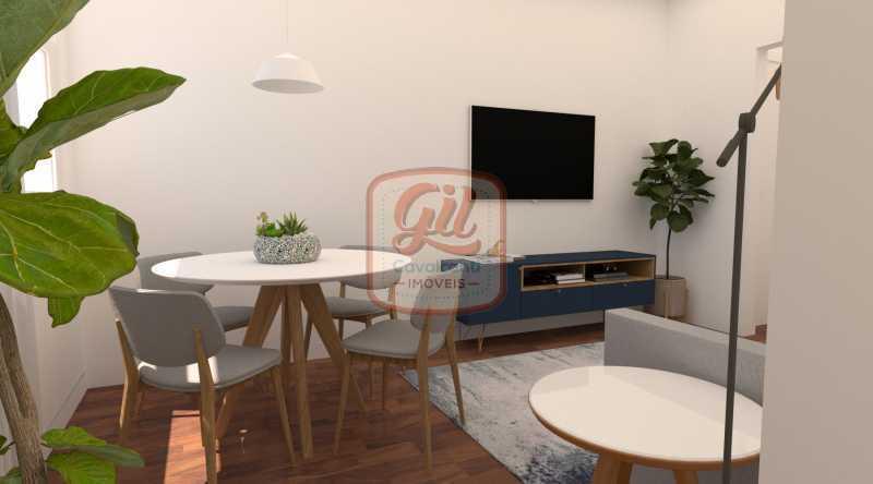 IMAGEM 04 - Casa 2 quartos à venda Copacabana, Rio de Janeiro - R$ 869.000 - AP2297 - 3