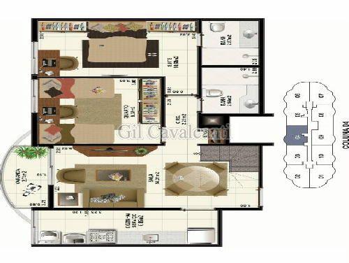 FOTO7 - Cobertura 2 quartos à venda Praça Seca, Rio de Janeiro - R$ 414.000 - CB0108 - 8