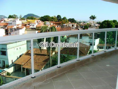 VARANDA - Cobertura Pechincha,Rio de Janeiro,RJ À Venda,3 Quartos,152m² - CBF0026 - 12