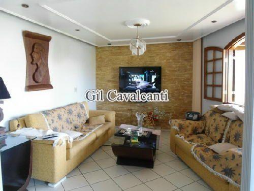 SALA - Casa em Condomínio 4 quartos à venda Taquara, Rio de Janeiro - R$ 800.000 - CS0913 - 1