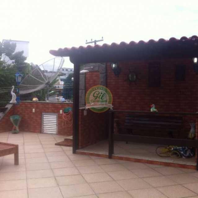 Terraço  - Casa 3 quartos à venda Taquara, Rio de Janeiro - R$ 900.000 - CS1199 - 24