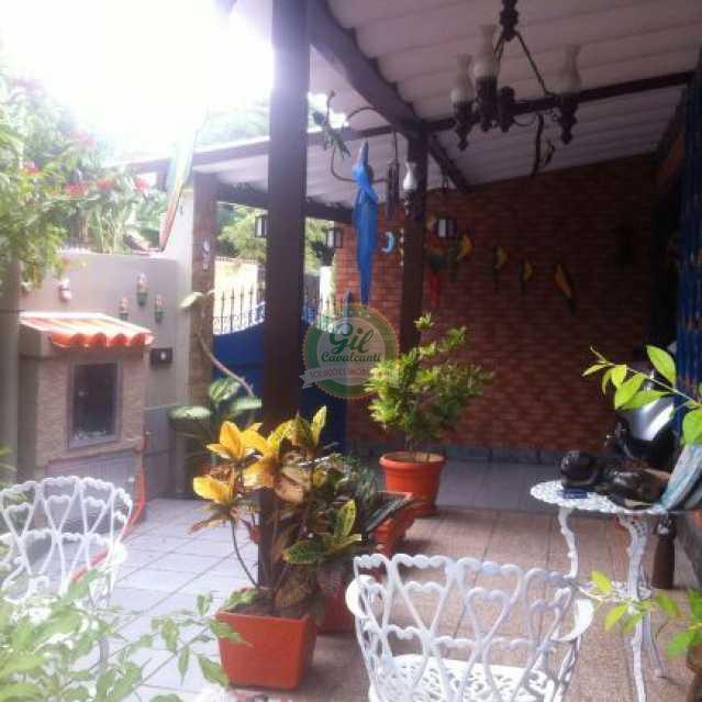 Frente - Casa 3 quartos à venda Taquara, Rio de Janeiro - R$ 900.000 - CS1199 - 3