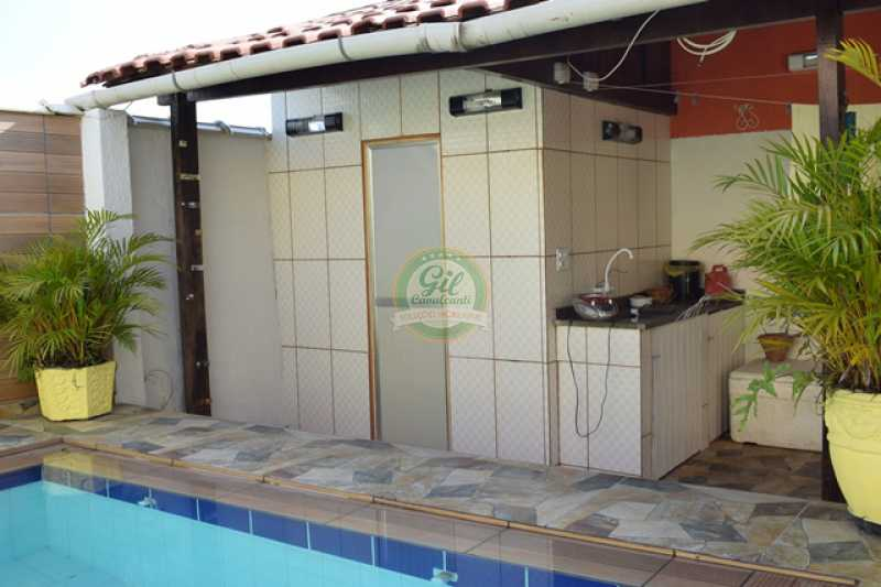 Área externa - Casa em Condomínio 4 quartos à venda Taquara, Rio de Janeiro - R$ 750.000 - CS1330 - 9