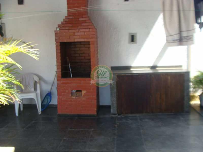 Churrasqueira - Casa em Condomínio 4 quartos à venda Taquara, Rio de Janeiro - R$ 750.000 - CS1330 - 12