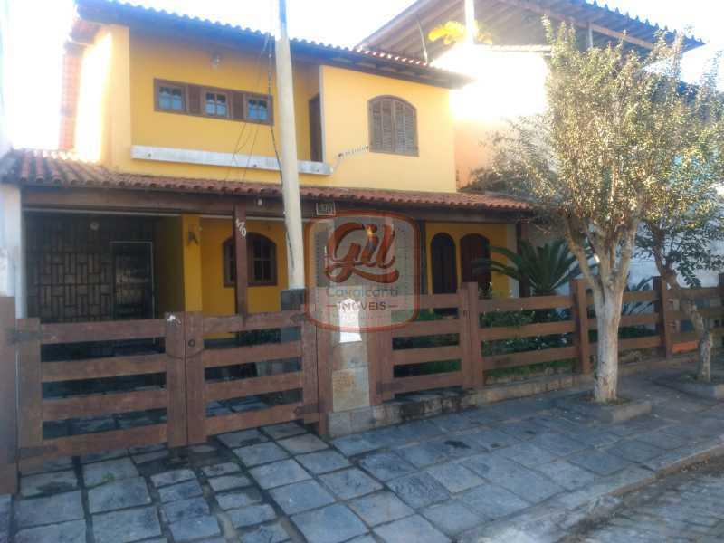efc41b21-0a79-43a3-83a8-a9ad24 - Casa em Condomínio 5 quartos à venda Taquara, Rio de Janeiro - R$ 750.000 - CS1337 - 3